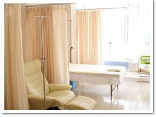 高濃度ビタミンC点滴療法室